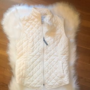 🍂Fall Pick!🍂 Quilted Vest in Ivory